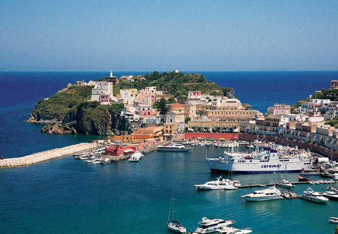 Riviera d'Ulisse e isola di Ponza